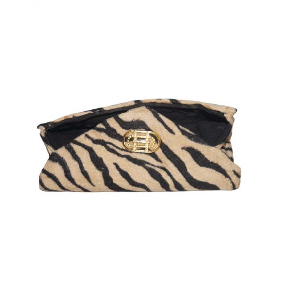 Ladies Animal Print Clutch Purse