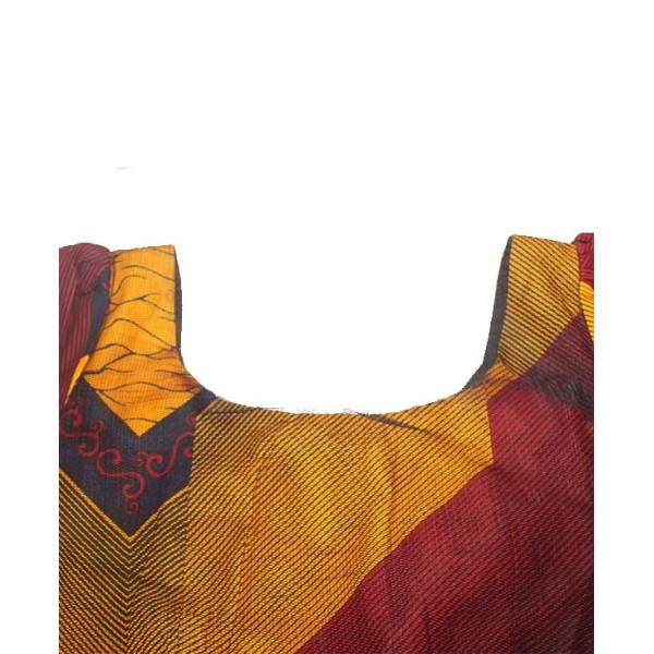 Size L, Ankara Maxi Skirt and Blouse