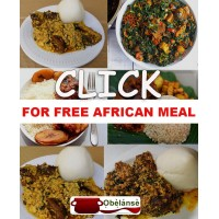 FREE AFRICAN MEAL AT..