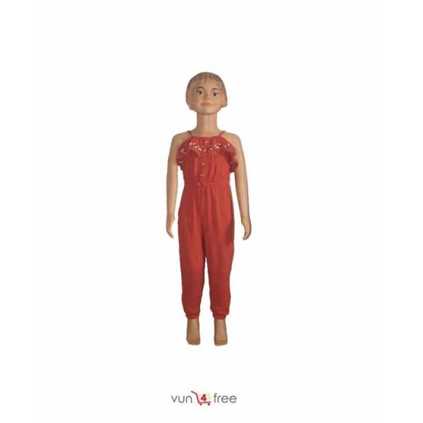 Size 4 - 5years, Sleeveless Jumpsuits
