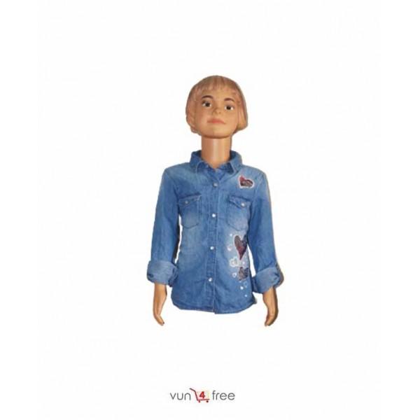 Size 7 - 8years, Female Kid Denim Jacket