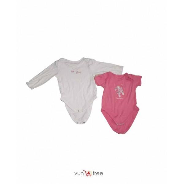 Size 9 - 18months, 2-in-1 Bodysuits