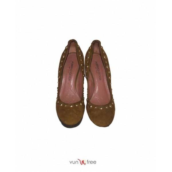 Size 37, Block Heel Shoes