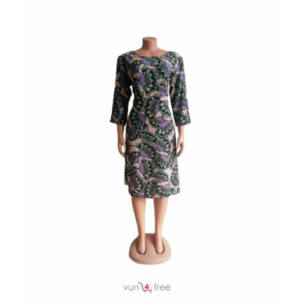 Size L, Chiffon Flowery Gown