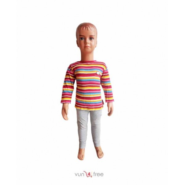 Size 2 - 3years, Multicolor Top with a Legging