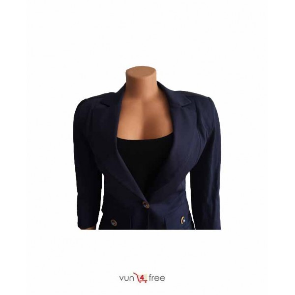Size L, Sleeveless Flay Gown with a Blazer