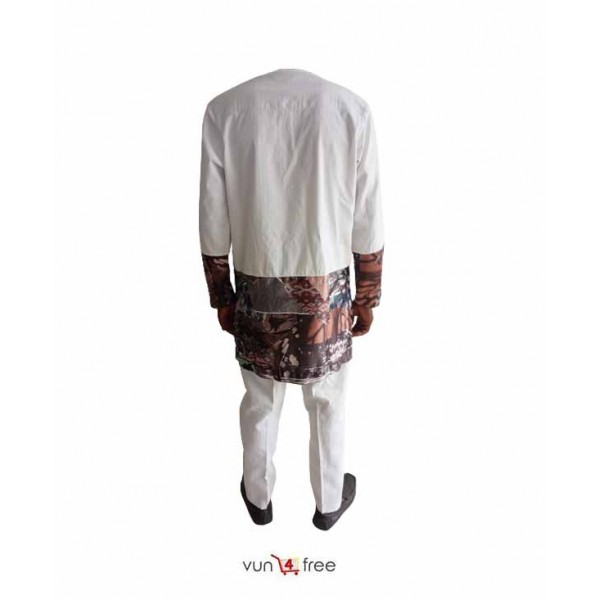 Size L, Men Patterned Senator Wear