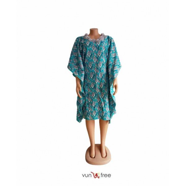 Size L, Ankara Buba Gown