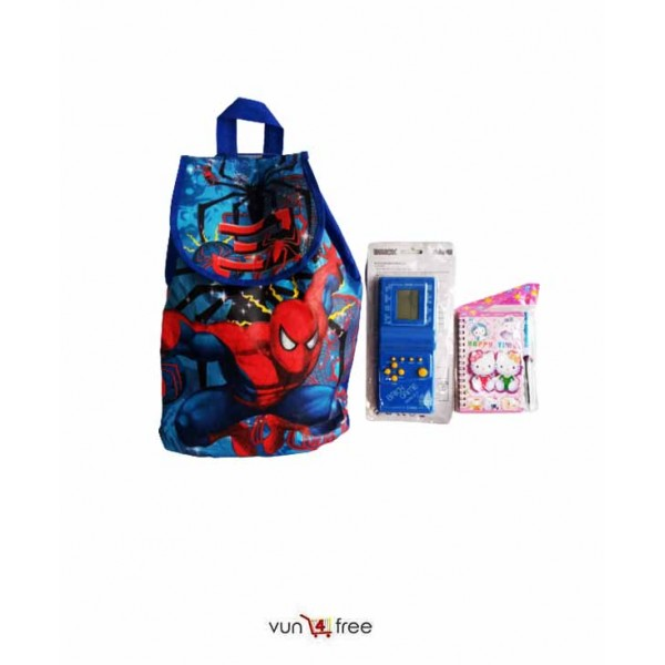 Kids Pack (Backpack, Brick Game, and a Jotter)
