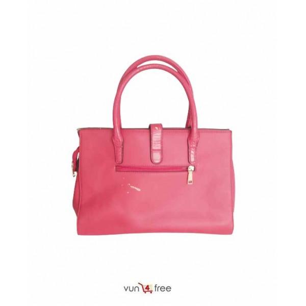Big Size, Susen Croc-Leather Handbag