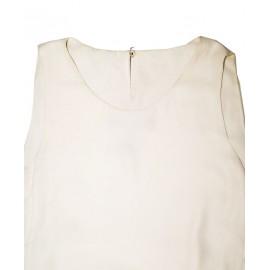 Size M, White Frilled Sleeve Dress