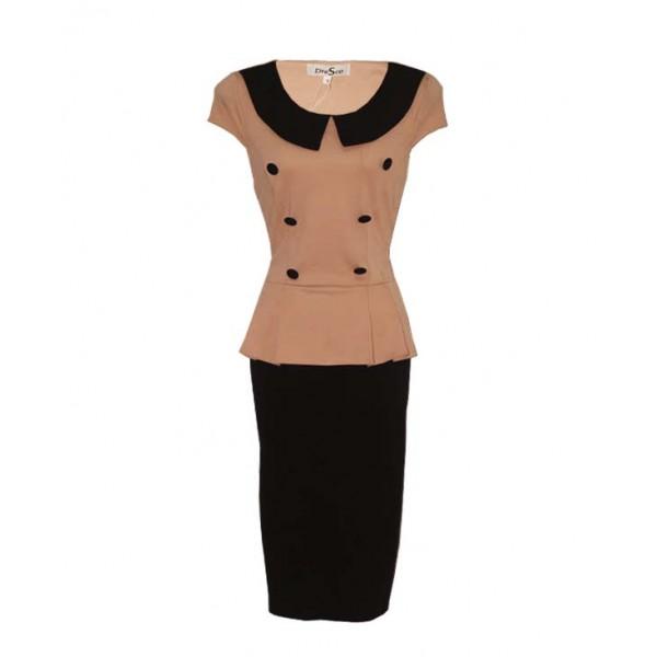 Size 12, Collar peplum Gown