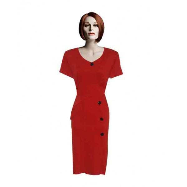 Size L, Women's Button Gown