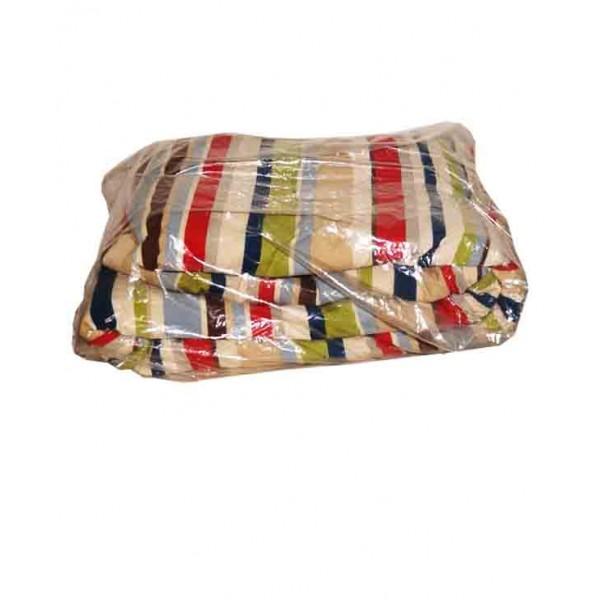 Patterned Multicolored Duvet