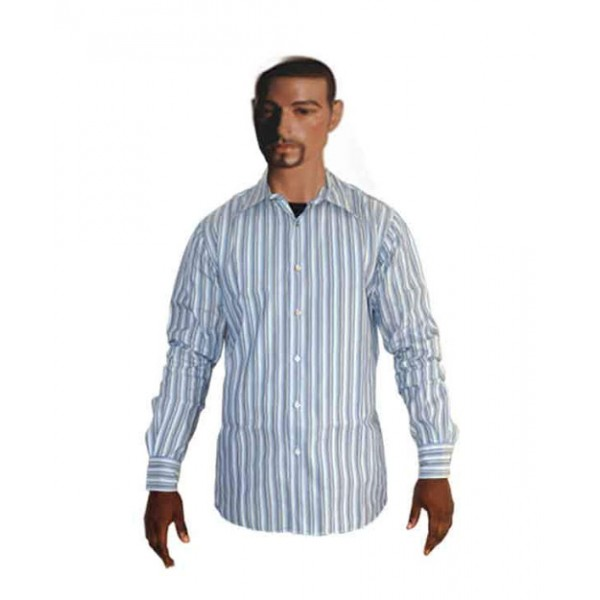 Size L, Men's Striped Shirt