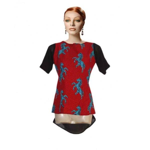 Size M, Women's Ankara Blouse
