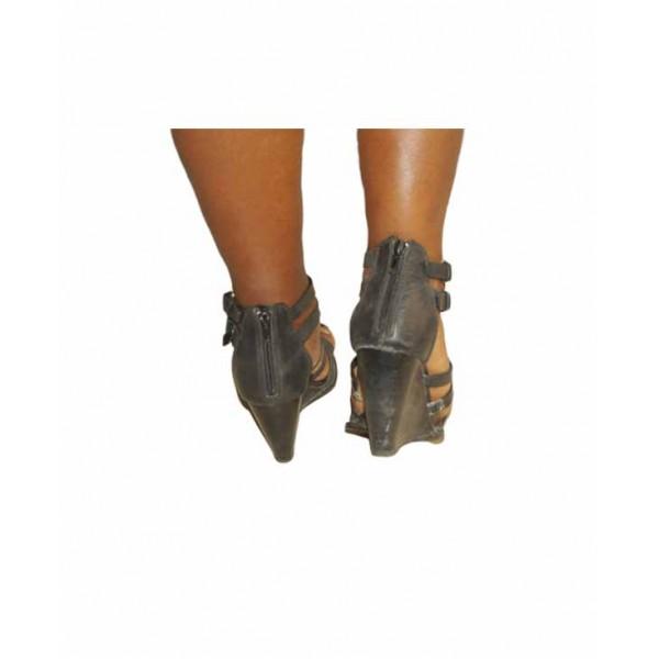 Size 38, Dune Women Wedge Sandal