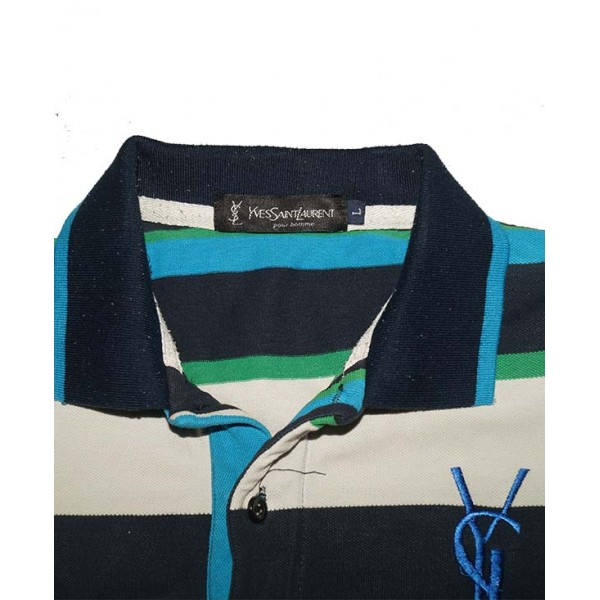 Size L, YVES SAINT LAURENT Men's Polo