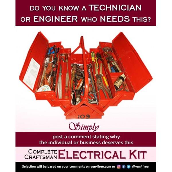 Complete Craftsman Electrical Kit