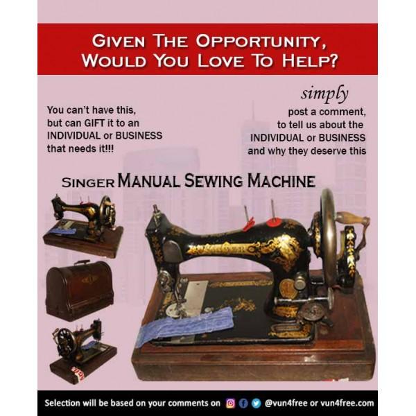 Singer Manual Sewing Machine
