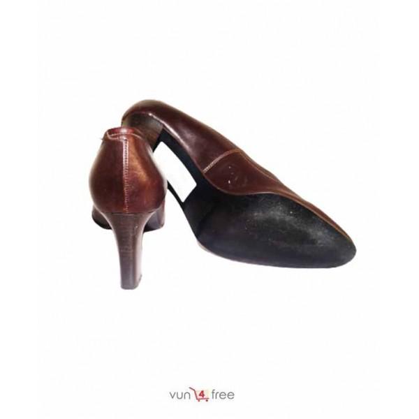 Size 37, Rocha.John Rocha Leather Heels Shoes