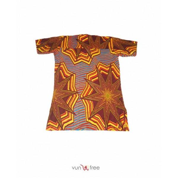 Size M, Ankara Male Shirt