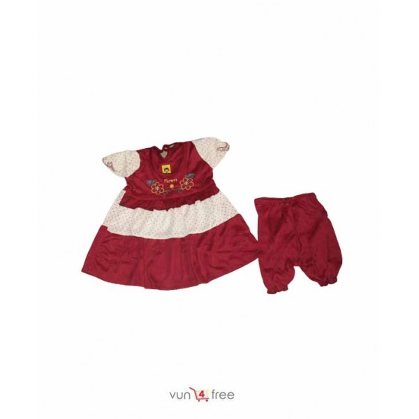 Size 2 - 5months, Baby Gown with a Short