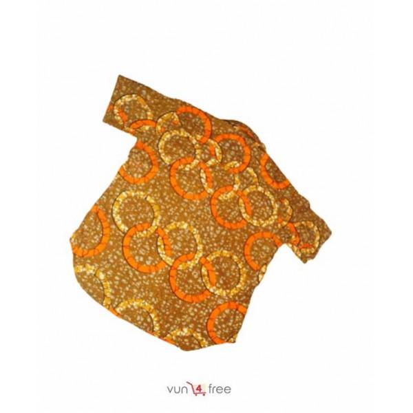 Size L, Ankara Male Shirt