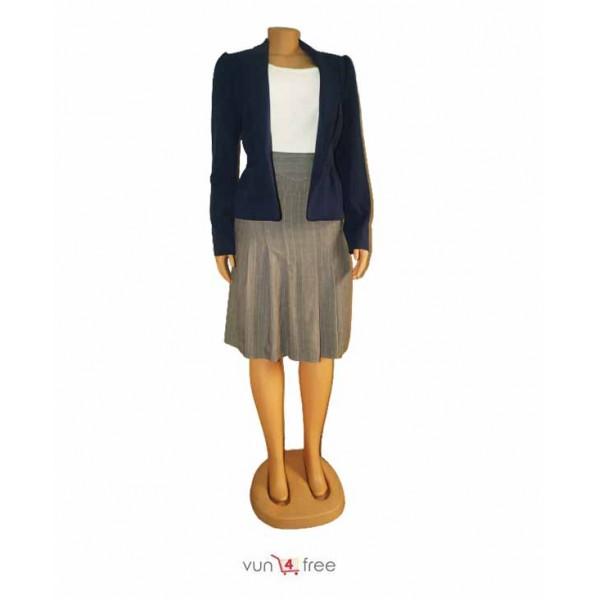 Size L, Blazer, Singlet with A Skirt