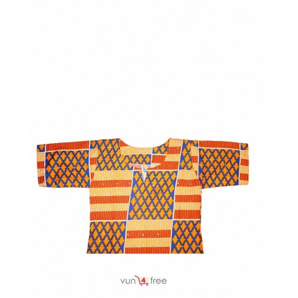 Size 10 - 14years, Female Kente Gown