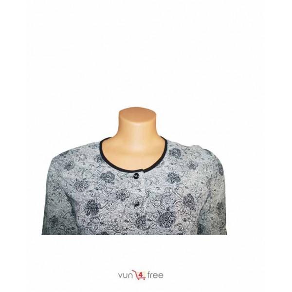 Size L, Chiffon Shirt with a Skirt