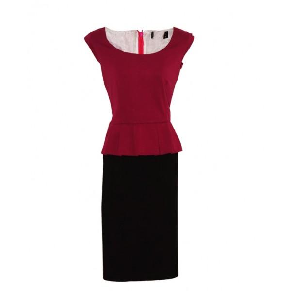 Size L, Ladies Peplum Dress