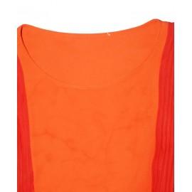 Size L, Chiffon Frill Gown