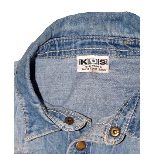 Kids Denim Sweat Jacket