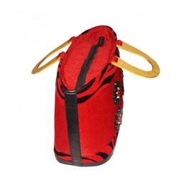 Bead Embellished Hand Made Bag