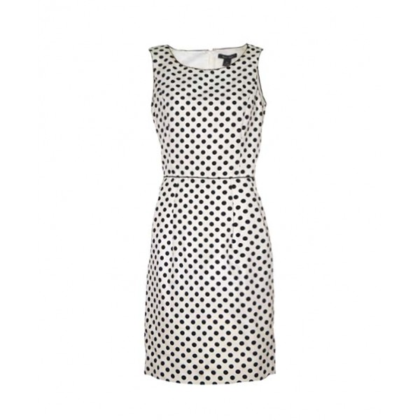 Size L, Lady's polka dot gown
