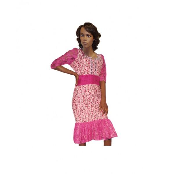 Size L, Lady's Ankara Gown