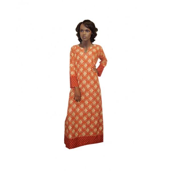 Size L, Cute Ankara Long Dress
