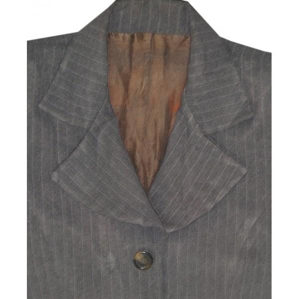 Size L, Lady's Gray Long Jacket