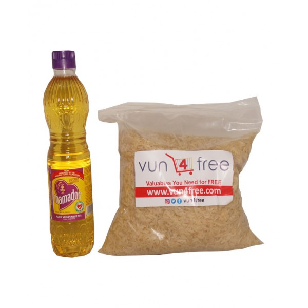 Foodstuff Value Pack Combo (Rice and Cooking Oil)