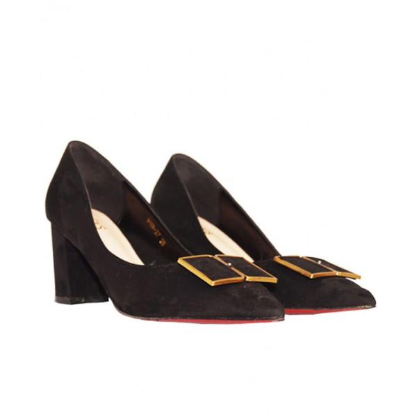 Size 38, Women's  Pointed Toe Block Heels