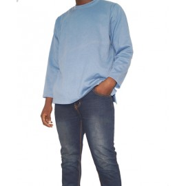 Size XL, Men's Plain Sweat Top with Jeans