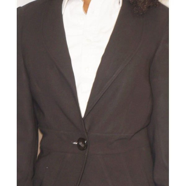 Size L, Papaya Lady's Suit Jacket