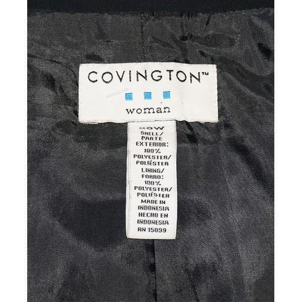 Size 20W,  Covington Black Suit Jacket