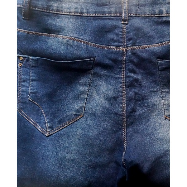 Size L, Lady's Blue Skinny Jean