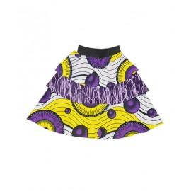 (1-3 Years) Girls's Ankara Skirt with Top