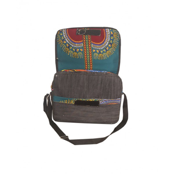 Size: Big, Handmade Ankara Laptop Bag