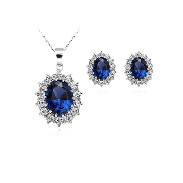 Women Princess Sapphire Pendant