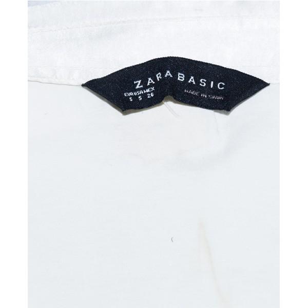 Size 26, Zara Female Long Sleeve Satin Top