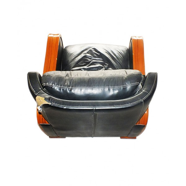 1 Seater luxury leather sofa